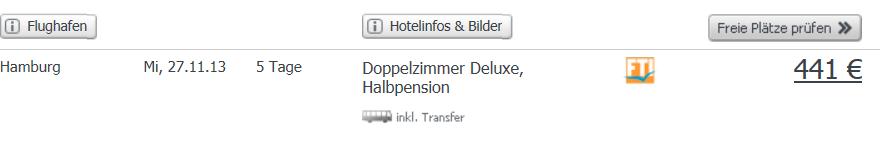 Hilton halvpension
